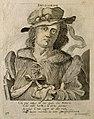 Pedanios Dioscorides. Line engraving by G. Burnacini. Wellcome V0001599.jpg