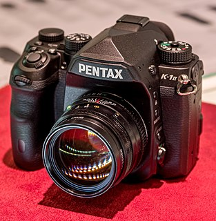 Pentax K-1 digital single-lens reflex camera