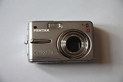 Pentax Optio A20 - front.JPG