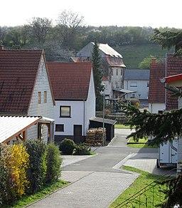 Bickenalbstraße in Gersheim