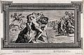 Perseus and Andromeda. Etching by P. Aquila after Annibale C Wellcome V0036081.jpg