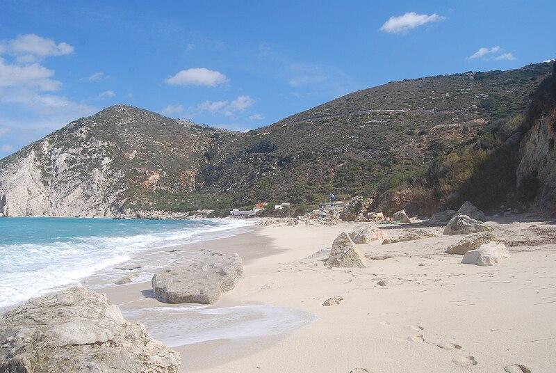 File:Petani Beach, Kefalonia 1.jpg