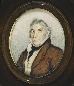 Peter Francisco - Miniature portrait, early 19th century