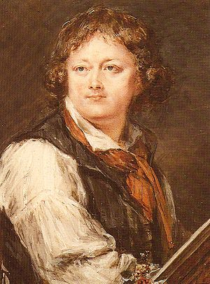 Peter Adolf Hall - Selfportrait, before 1793