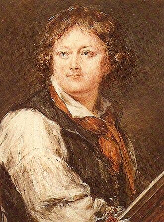 Peter Adolf Hall - Selfportrait, before 1793