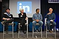 Peter Brantley, Karen Gifford, DJ Patil and Tim O'Reilly.jpg