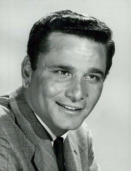 In American television game show You Don't Say! in 1967. Peter Falk NBC 1967 You Don't Say!.jpg