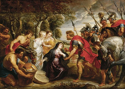 Peter Paul Rubens - The Meeting of David and Abigail 89.63-S1 o2