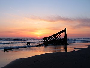 Wrack der Peter Iredale (2006)