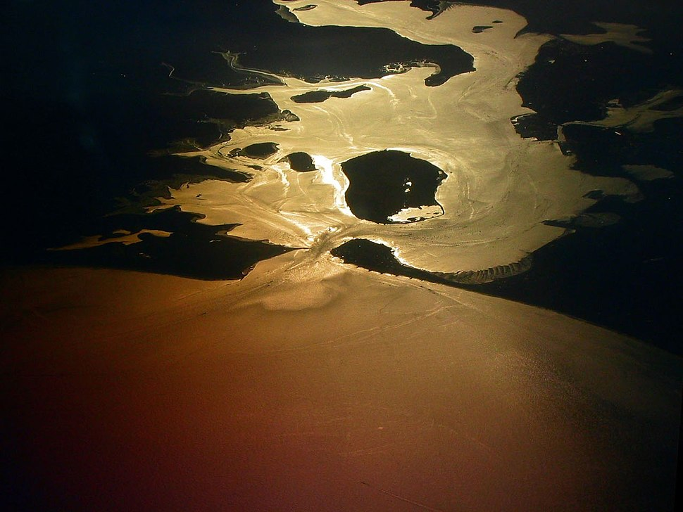 Petr Kratochvil - Poole Harbour from plane