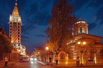 Pharnavaz I of Iberia - King Pharnavaz's street in Batumi.
