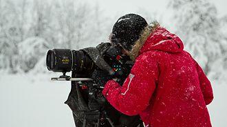 Philip Clemo - Philip Clemo filming in Norway 2013