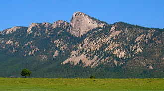 Scouting in New Mexico - The Tooth of Time, an icon of Philmont Scout Ranch