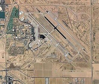Williams Air Force Base - 2006 USGS airphoto