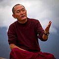 Photo Sherub Wangchuk Principal Nalanda Buddhist Institute Bhutan 2013 by Lis Magnus.jpg
