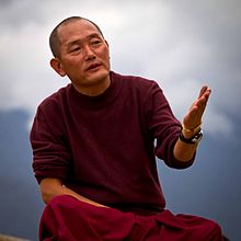 Photo Sherub Wangchuk Principal Nalanda Buddhist Institute Bhutan 2013 by Lis Magnus.jpg