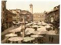 Piazza delle Erbe, Verona, -Italy--LCCN2001701086.tif