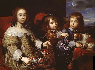 Frédéric Maurice de La Tour d'Auvergne - Frédéric Maurice's eldest three children, Pierre Mignard.