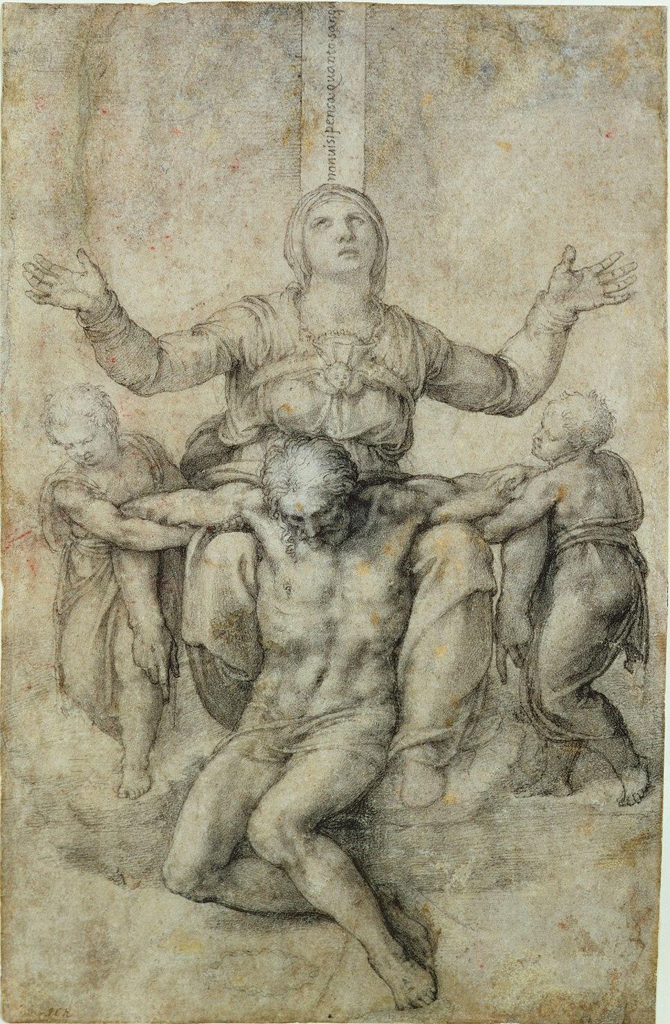 Pietà per Vittoria Colonna