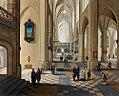 Pieter Neefs II, Frans Francken III - Interior of Antwerp cathedral.jpg