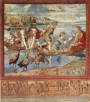 Brussels tapestry - Image: Pieter van Edingen Van Aelst The Miraculous Draught of Fishes WGA07459