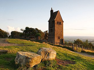 Listed buildings in Rivington - Pigeon Tower, in Lever Park, Rivington