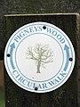 Pigney's Wood Circular Walk - marker - geograph.org.uk - 1020822.jpg