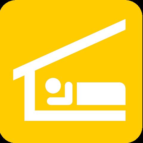 File Piktogramm Bett Gelb Png Wikimedia Commons