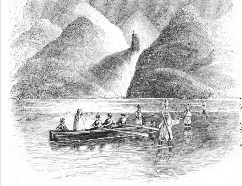 Pillar of salt at Usdum