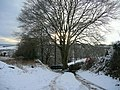 Pinford Lane in winter - geograph.org.uk - 1157048.jpg