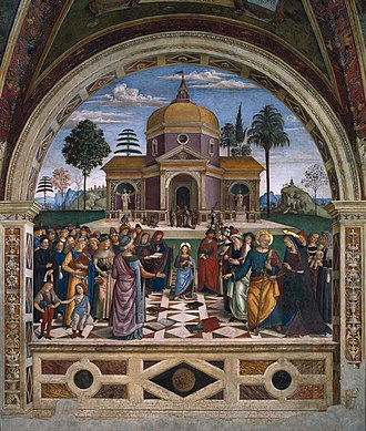 Baglioni Chapel - Dispute with the Doctors.