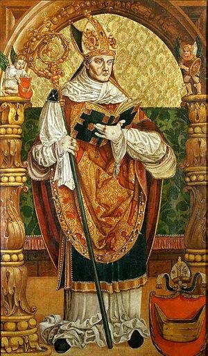 Piotr Tomicki - Portrait of Archbishop Piotr Tomicki.