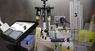 Pipette laboratory equipment