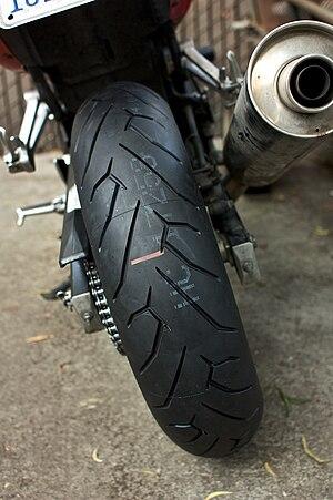 Pirelli Diablo Rosso motorcycle tyre