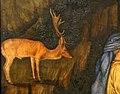 Pisanello, visione di sant'eustachio, 1438-42 ca. 02 cervo.jpg