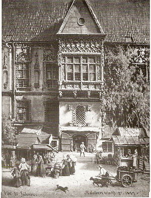 Piwnica Świdnicka - Outside view from 1859