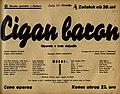 Plakat za predstavo Cigan baron v Narodnem gledališču v Mariboru 18. februarja 1940.jpg