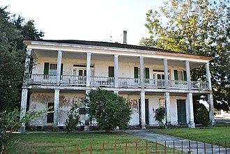 Plaquemine, Louisiana - Abandoned house in Plaquemine