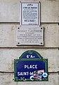 Plaques Robert Gauthier place Saint-Michel.jpg