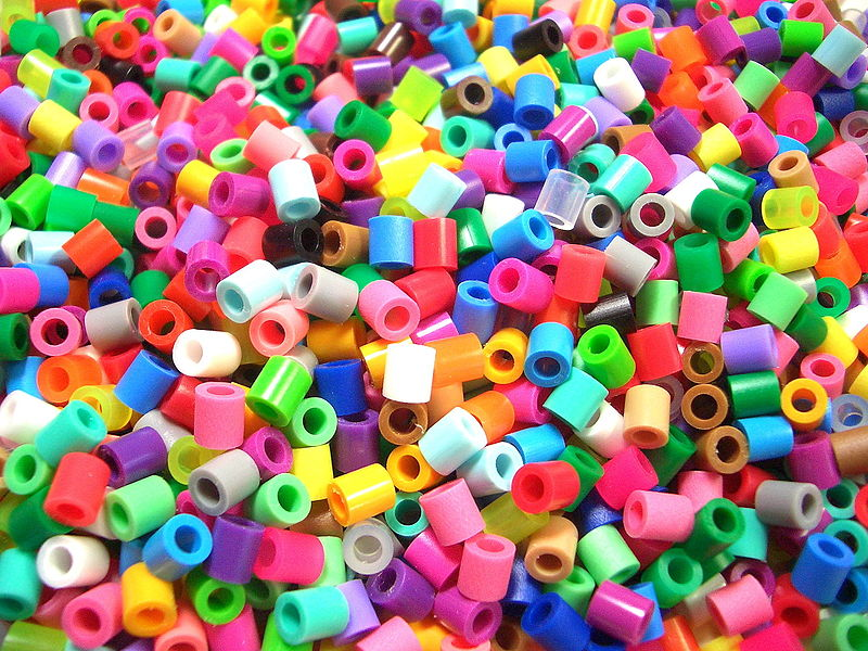 Plastic Beads In Cake Pans