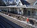 Platform rebuilding at Beeston railway station - geograph.org.uk - 1769948.jpg