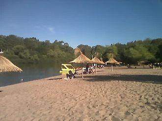 Yí River - Image: Playa El Sauzal