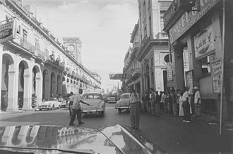 Plaza del Vapor, Havana - Plaza del Vapor right before it was torn down in 1959