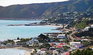 Suburb in Porirua, New Zealand