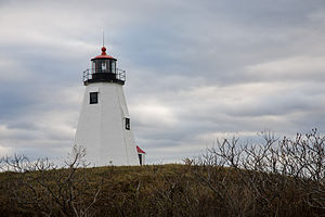 Plymouth Light - Image: Plymouth Light, or Gurnet Light 2008