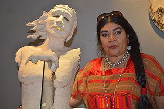 Deyanira África Melo Mexican sculptor and painter