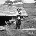 Pogladič Gabriel in hčerka Pavla, Paka 1963.jpg