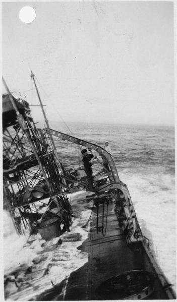 File:Point Honda shipwreck site September 8, 1923, Santa Barbara Co., California. On the deck of the U.S.S. Chauncey... - NARA - 295447.tiff