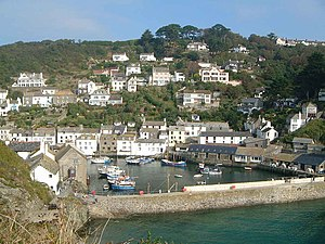 Fishing in Cornwall - Polperro, on the south coast of Cornwall, has been an active fishing and smuggling port since the 12th century