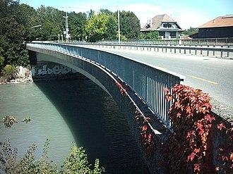 Thônex - Sierne bridge at Thônex